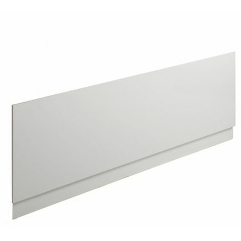 Milano 1500 x 510mm Gloss White 2-Tier Bath Front Panel for use with 1500mm Standard Straight Baths