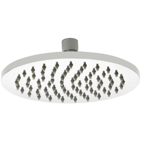 Milano 300mm Stainless Steel Round Shower Head with a Polished Chrome Finish