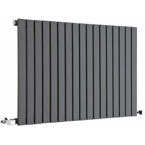 Milano Capri - Horizontal Flat Panel Designer Radiator - Anthracite - 635mm x 1000mm