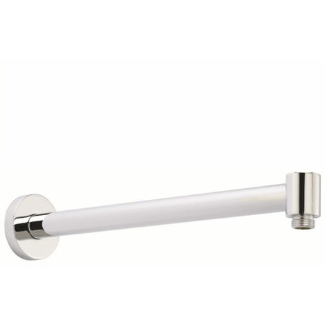 Milano Chrome Contemporary Wall Mounted Shower Arm
