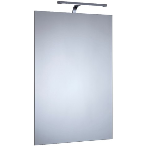 Milano Darent 700 x 500mm 5W LED Bathroom Mirror with Sweep Motion Sensor & Demister - IP44