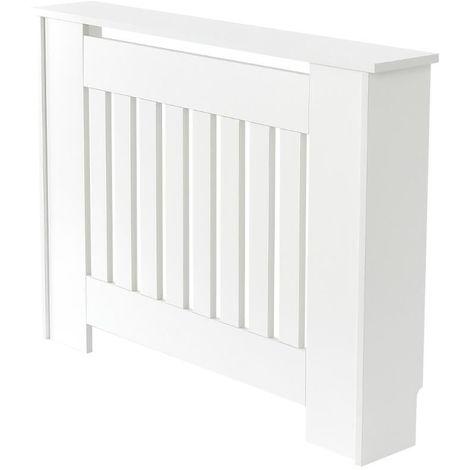 Milano Ealing - White Horizontal Radiator Cabinet Cover - 815mm x 1120mm