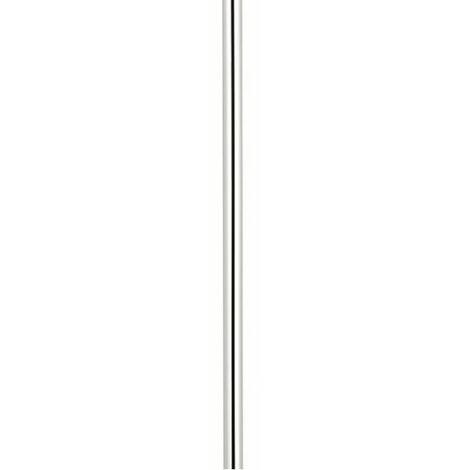Milano Elizabeth – Traditional 1200mm Rigid Riser Shower Rail Pipe - Chrome