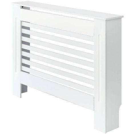 Milano Elstree - White Horizontal Radiator Cabinet Cover - 815mm x 1120mm