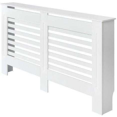 Milano Elstree - White Horizontal Radiator Cabinet Cover - 815mm x 1520mm