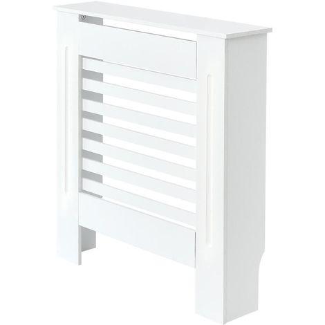 Milano Elstree - White Horizontal Radiator Cabinet Cover - 815mm x 780mm