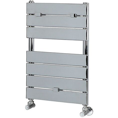 Milano Lustro - Flat Panel Heated Towel Warmer - Bathroom Radiator Rail 620mm x 455mm