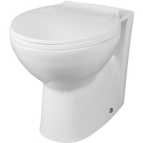 Milano Minimalist Back to Wall Toilet Pan & Soft Close Seat