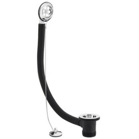 Milano Select - Retainer Bath Waste with Plug and Ball Chain - Chrome