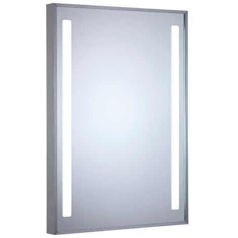 Milano Tagus - 700 x 500mm 18W LED IP44 Bathroom Mirror with Sweep Motion Sensor & Demister