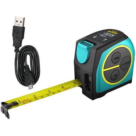 Mileseey Regle Infrarouge De Laser De Metre De Mesure De Distance De Telemetre Numerique De Tapeline Infrarouge De Metre 5M