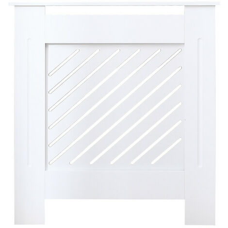 Milford white radiator cover