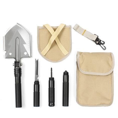 Military Folding Shovel Survival Spade Adjustable Camping Hiking Hunting