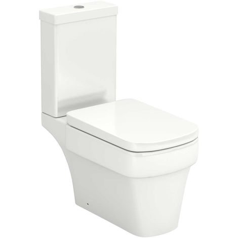 Millenium Close Coupled Toilet with Soft Close Seat