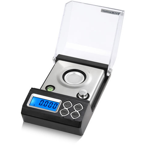 Milligram Scale Mini Electronic Balance Jewelry Carat Scale 30g/0.001g