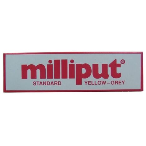 Milliput Standard Yellow Grey Two Part Epoxy Putty 113.4 Gram