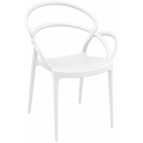 "main image of ""Milner Armchair - White"""