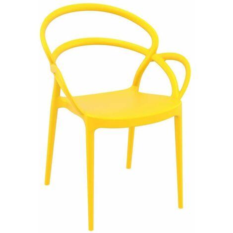 Milner Armchair - Yellow