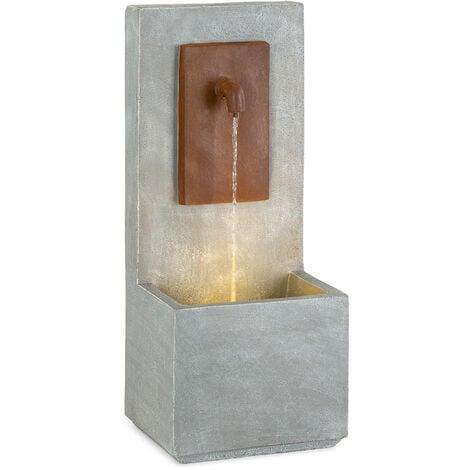 """main image of """"Milos Fuente LED para interiores y exteriores cable de 5 m cemento gris"""""""