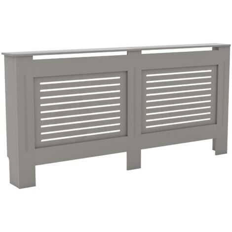 Milton Radiator Cover Grey, Extra Large