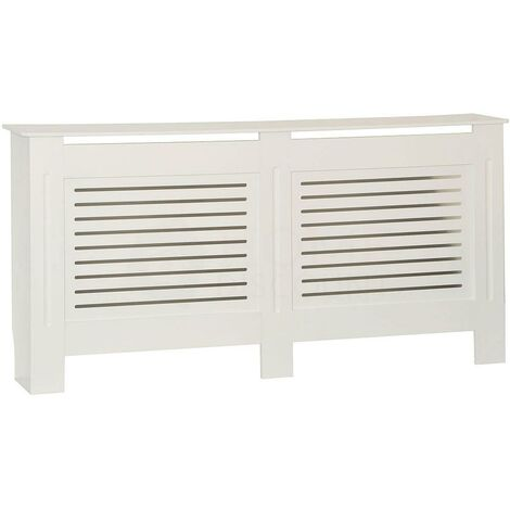 Milton Radiator Cover White, Extra Large