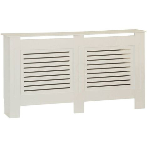 Milton Radiator Cover White, Large