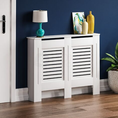 Milton Radiator Cover White, Medium
