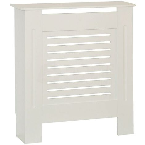 Milton Radiator Cover White, Small