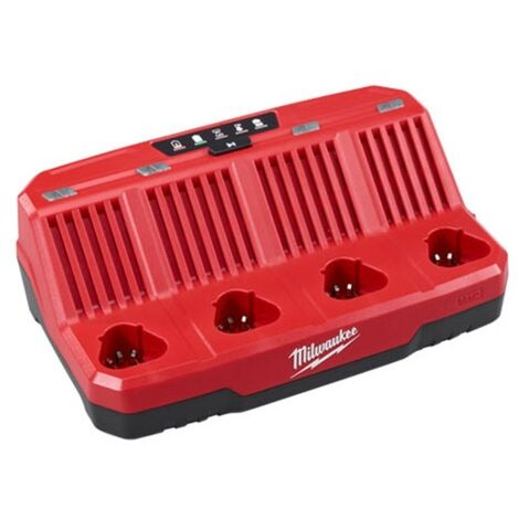 MILWAUKEE 12V 4 BAY CHARGER