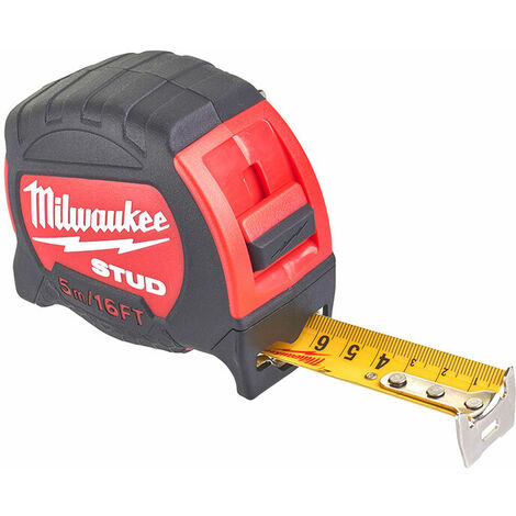 Milwaukee 48229917 STUD Tape Measure 5m/16ft (Width 27mm)
