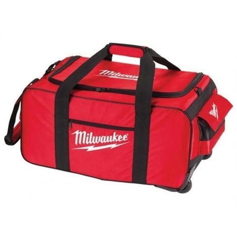 Milwaukee 4931427040 M18 M28 Large Contractor Tool Bag with Wheel