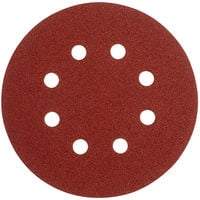 Milwaukee 4932 3677 43 Sanding Disc 8 Hole 125mm 120 Grit - Pack of 5