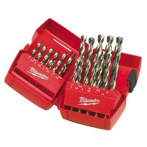 Milwaukee 4932352376 25 Piece Thunderweb HSS-G Metal Drill Bit Set