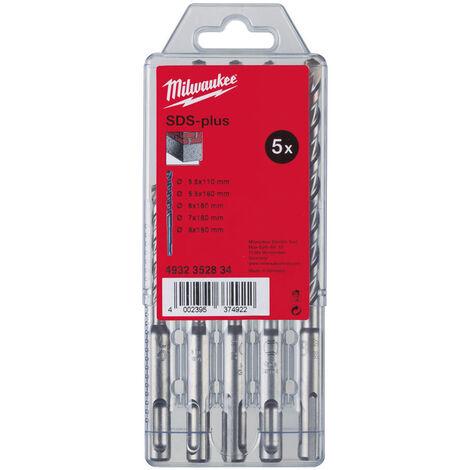 Milwaukee 4932352834 SDS Plus 5pc Drill Bit Set