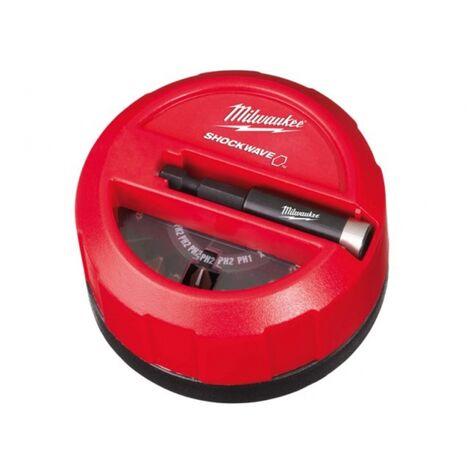 Milwaukee 4932352904 15pc Shockwave Screwdriving Puck Set