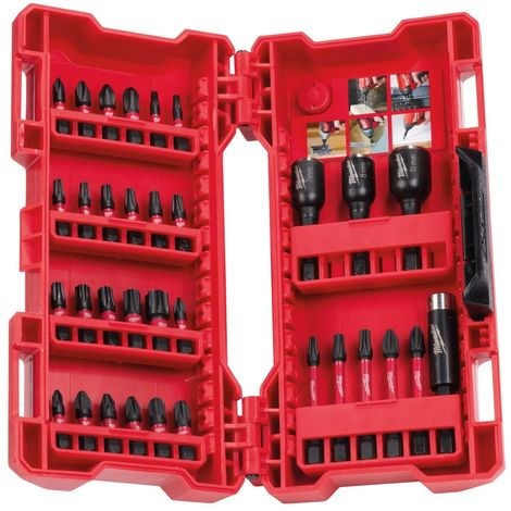 Milwaukee 4932430905 33 Piece Shockwave Impact Bit and Nut Driver Set