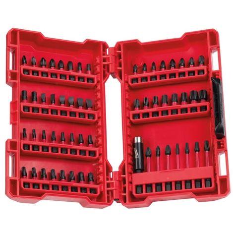 Milwaukee 4932430907 56 Piece Shockwave Screwdriver Drill Bit Set