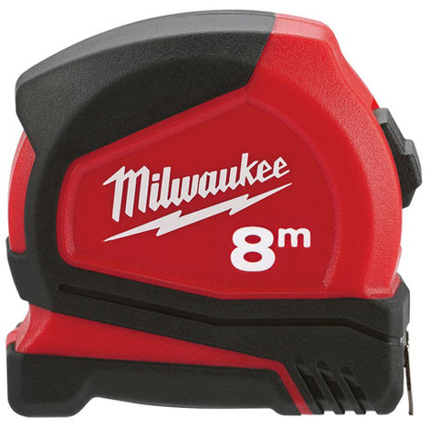 Milwaukee 4932459594 C8/25 8m Pro Compact Tape Measure
