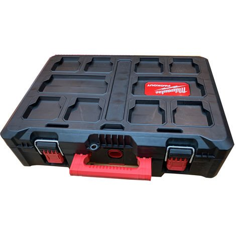 Milwaukee 4932464080 Packout Box 3 Toolbox Storage System without Tray