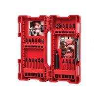 Milwaukee 4932464169 GEN II Shockwave Impact Duty Assorted Bit Set, 24 Pieces.