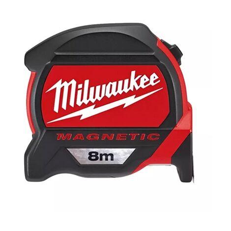 Milwaukee 4932464177 Premium Magnetic 8m Tape Measure