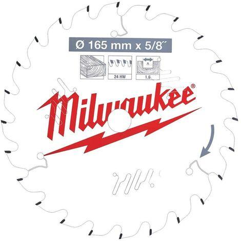 Milwaukee 4932471294 165x20mm 24t Circular Saw Blade