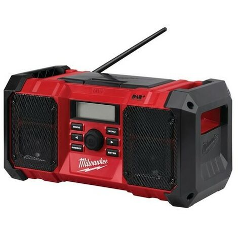 Milwaukee 4933451252 M18 JSRDAB-0 DAB Digital Jobsite Radio 18 Volt Bare Unit