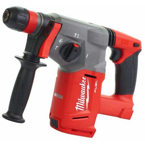 Milwaukee 4933451430 Martillo combinado FUEL 18V, VER-0 Li Ion, 2,8J, 26mm con Dynacase, Rojo/Negro