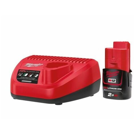 Milwaukee 4933451901 M12 NRG-201 Energy Kit 12 Volt 1 x 2.0Ah Li-Ion