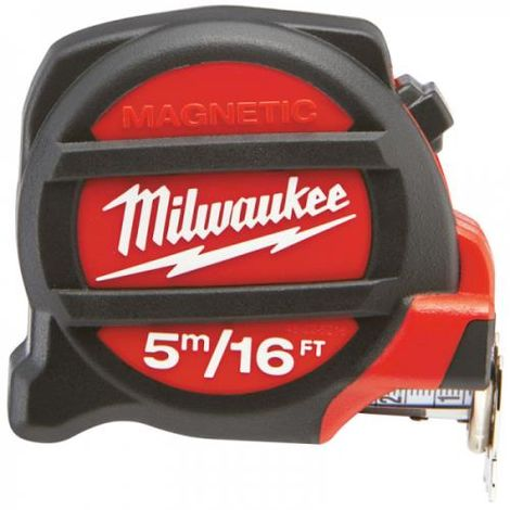 MILWAUKEE 5M/16FT MAGNETIC TAPE MEASURE