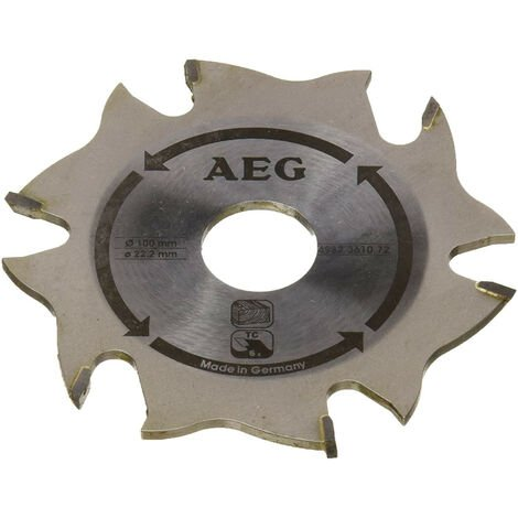 MILWAUKEE AEG DISCO CORTE ENGALLETADORA 100X22,2mm