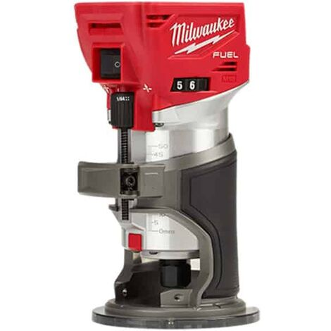 MILWAUKEE Affleureuse 18V solo M18 FUEL FTR-0X - 4933471604