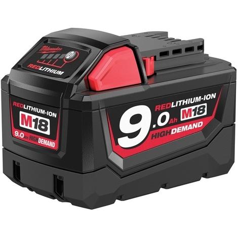 MILWAUKEE Batterie 18V 9Ah M18 B9 - 4932451245
