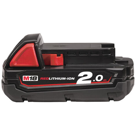 MILWAUKEE Batterie B2 REDLITHIUM M18 Li-Ion 2,0 Ah 4932430062